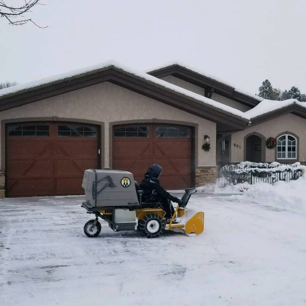 now Plowing In Columbia Falls